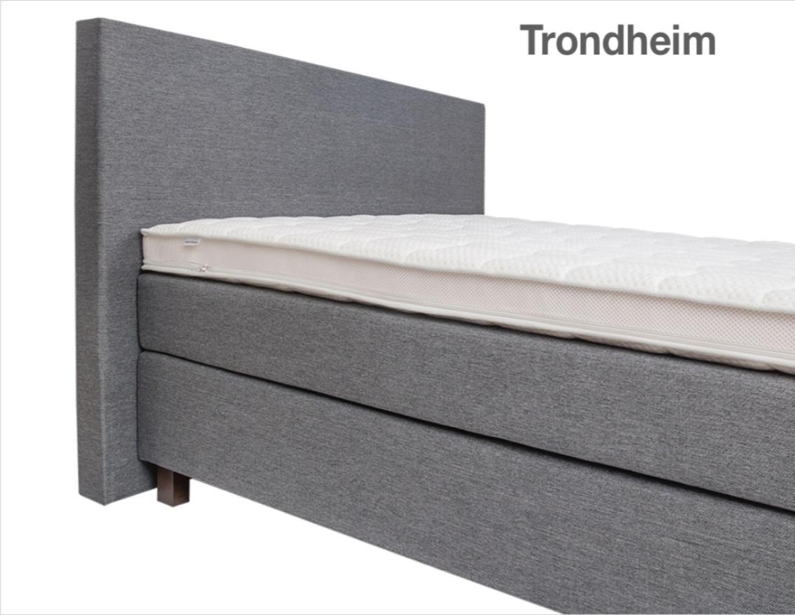 HELMING Kopfteil Trondheim grau-weiß | Boxspringbetten-Dortmund
